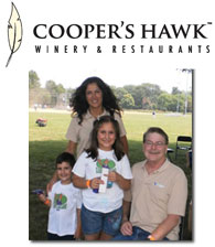 FFCU Employees and family at the Cooper's Hawk Winery Company Picnic