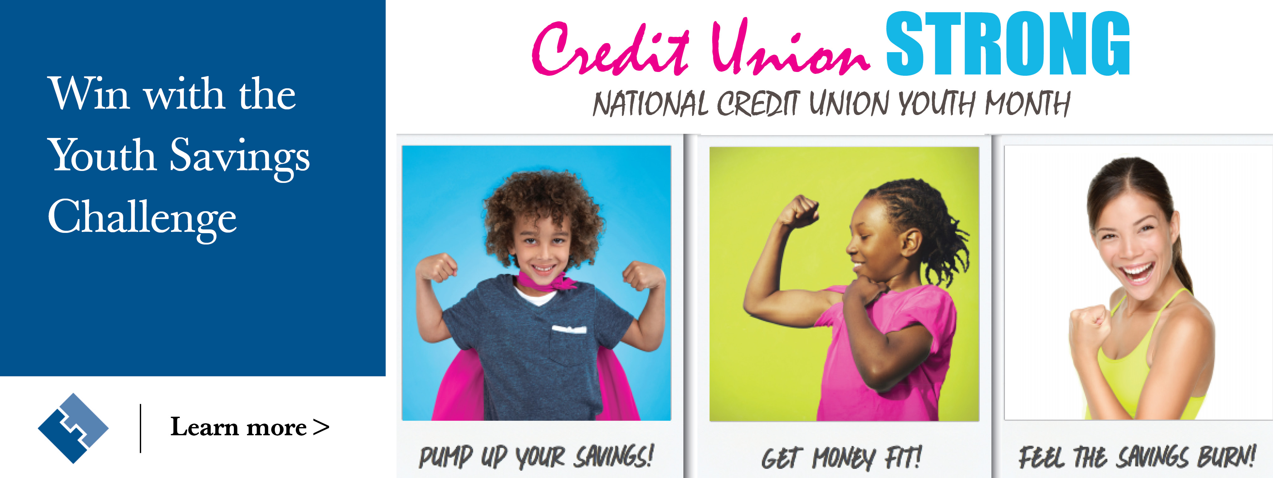 Youth savings month web banner