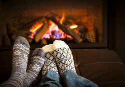 Using Equity Loans to Winterize Your Home - Cozy by the Fire image
